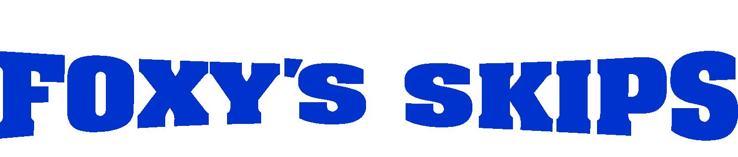Foxy's Skips Logo